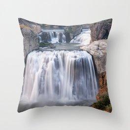 Shoshone Falls in Twin Falls, Idaho Throw Pillow