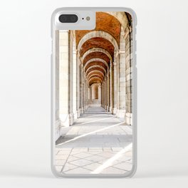 Sun Streams Down the Hall Clear iPhone Case