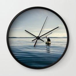 Blue Sea Victory Wall Clock