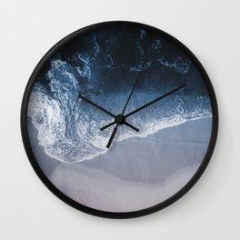 Deep Blue II Wall Clock