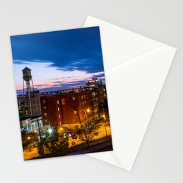 Libby Hill Post Sunset Views In Richmond VA Stationery Cards