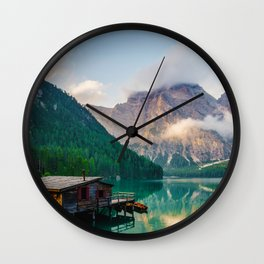 The Place To Be III Wall Clock