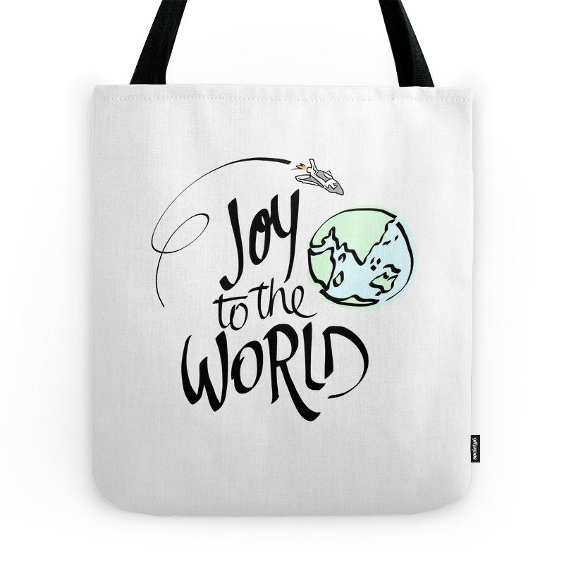 Joy to the World Tote Purse by edwardlucas (TBG7792201) photo