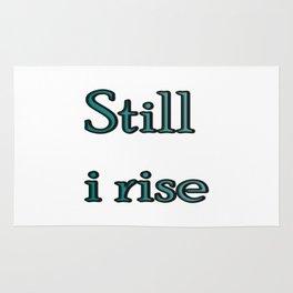 still i rise ( https://society6.com/vickonskey/collection ) Rug