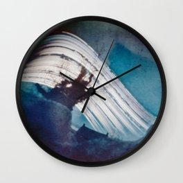 Sun on the roof (pinhole camera) Wall Clock