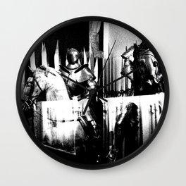 Venice Knights Wall Clock