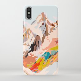 glass mountains iPhone Case