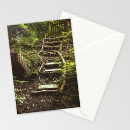 Stairway to the Unknown II Stationery Cards