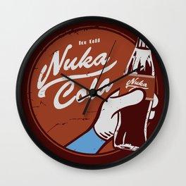 Nuka Cola Fallout drink Wall Clock