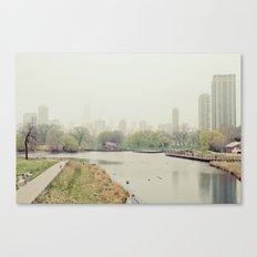 Chicago Fog Canvas Print