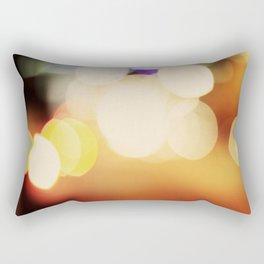 City Blur Rectangular Pillow