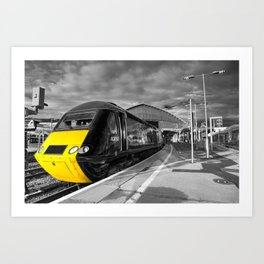 Bristol Temple Meads Power car  Art Print