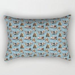 The Basset Hound Rectangular Pillow