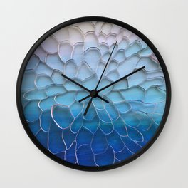 Periwinkle Dreams Wall Clock