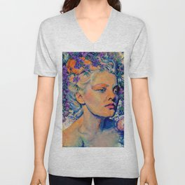 OUR LOVE WAS IN BLOOM Unisex V-Neck