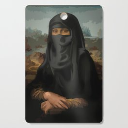 Niqab - Monnalisa Cutting Board
