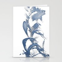 calligraphy Stationery Cards featuring Calligraphy by Margheritta
