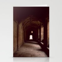 england Stationery Cards featuring Oxford, England by David Hohmann