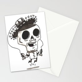 Senor Muertes By Mikhey Moz Stationery Cards