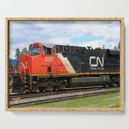 Canadian National Railway Serving Tray