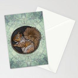 Woodland Squirrel Stationery Cards