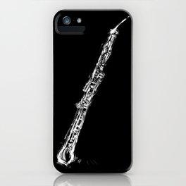 Contrabass Oboe iPhone Case