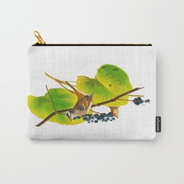 White-crowned Sparrow Bird Carry-All Pouch
