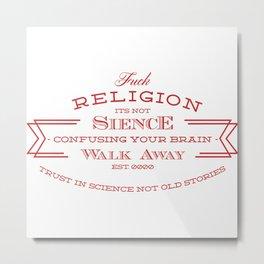 religion tee Metal Print