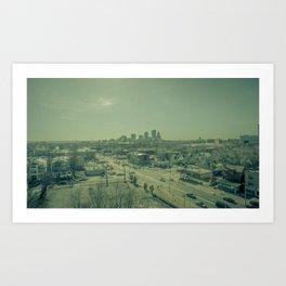 Gritty City Art Print
