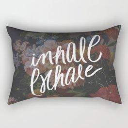 INHALE/EXHALE Rectangular Pillow