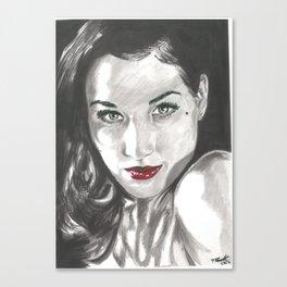 Dita Canvas Print