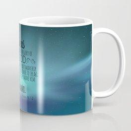 Psalm 19:1-2 Coffee Mug