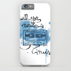 Music's all you need iPhone 6s Slim Case
