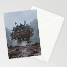 1920 - the destroyer of nature Stationery Cards