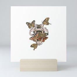 Lion's Skull Mini Art Print