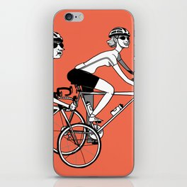 Keep Cycling iPhone Skin