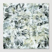 mineral Canvas Prints featuring mineral by clemm