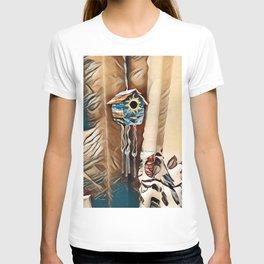 """ Birdhouse Wind Chime "" T-shirt"