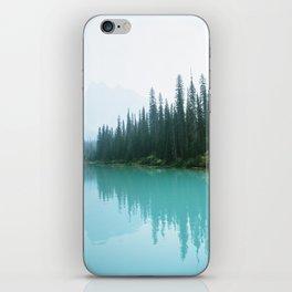 Hazy Days at Emerald Lake iPhone Skin