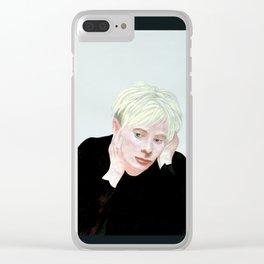 thom yorke Clear iPhone Case