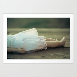 Alice's Escapades ~ Damsel in Distress Art Print
