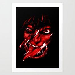 Angry Art Print
