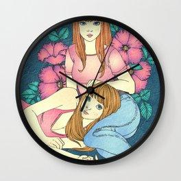 Sister Lover Wall Clock