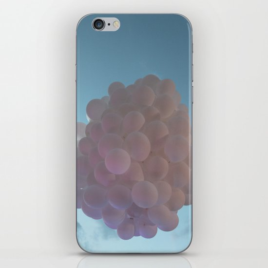 up up and away - balloons iPhone & iPod Skin