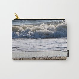 Cape May Beach New Jersey By Annie Zeno Carry-All Pouch