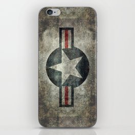 US Air force style insignia V2 iPhone Skin