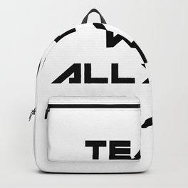 School Teacher Teaching Gift Backpack
