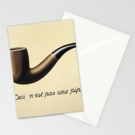 Not A Pipe Stationery Cards