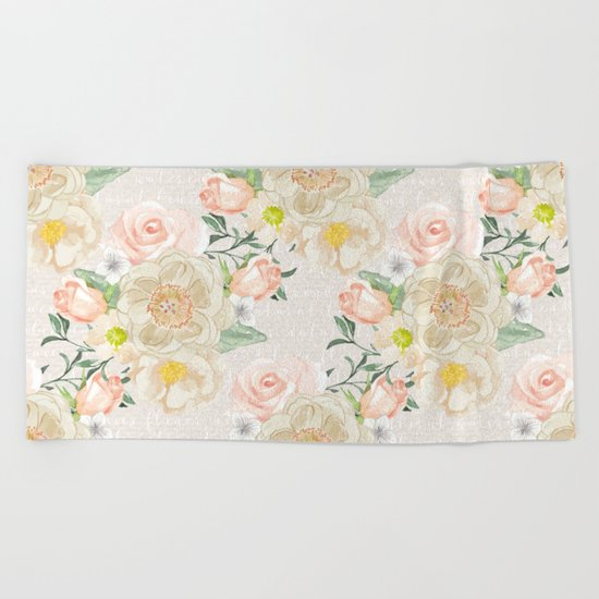 Spring is in the air #25 Beach Towel