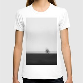 Lonely Tree High Res Black and White Landscape Photography T-shirt